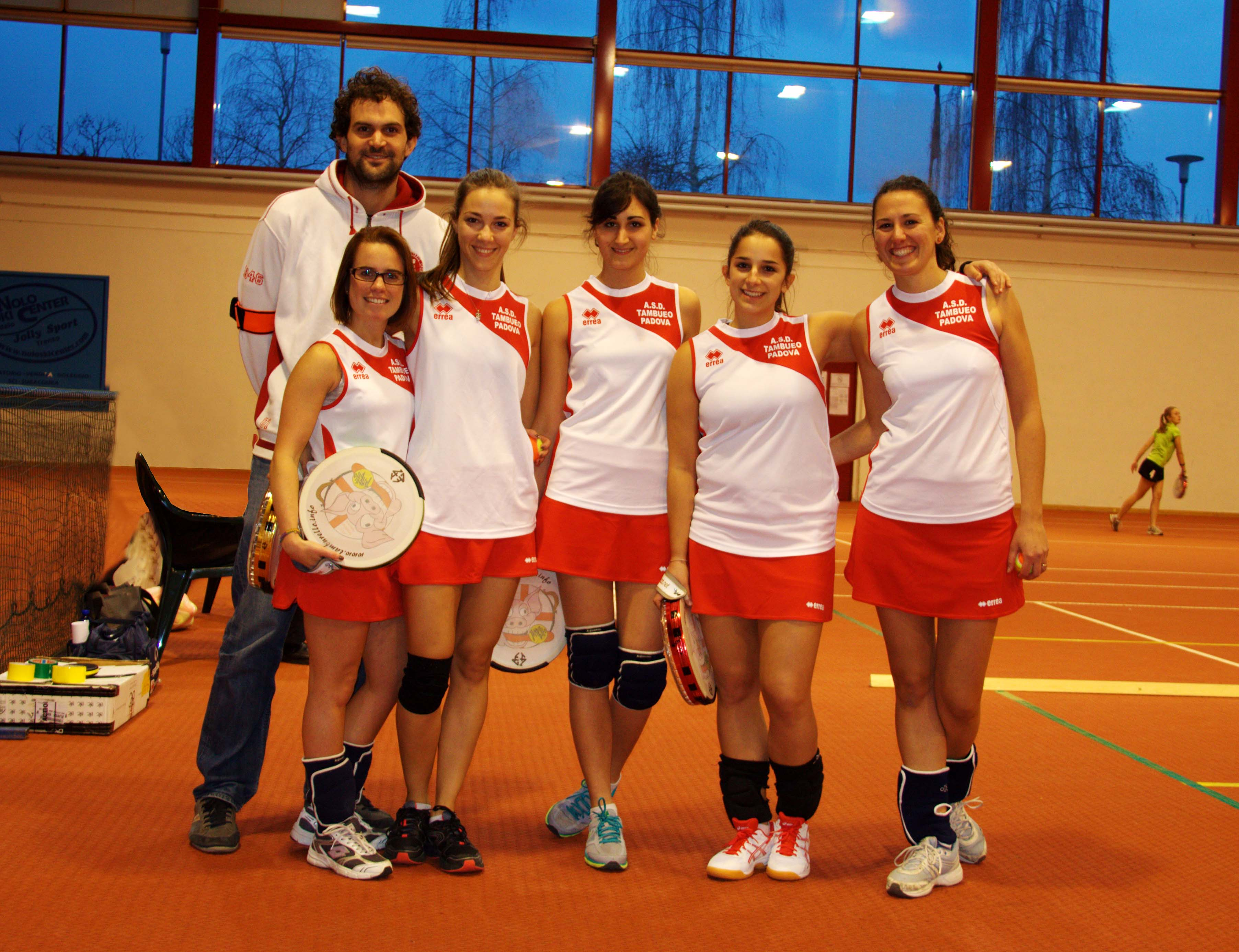 ASD Tamburello Padova Indoor squadra